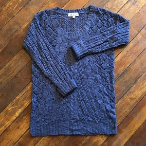 Sweaters - Blue Cotton sweater